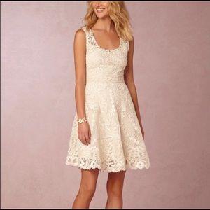BHLDN Yoana Baraschi Anouska intricate lace Dress